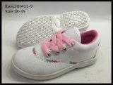 新式の子供のズック靴のスポーツは蹄鉄を打つ余暇の靴(HH411-9)に