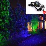 De ster toont Laser het Lichte Snelle het Verschepen Openlucht Rode Groene Licht van de Douche van de Laser van de Projector van de Ster van de Motie met Photosensor