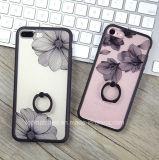 выбитый iPhone7 случай картины iPhone7 шнурка, случай телефона все включено Анти--Падения защитный TPU iPhone 6s с пряжкой кольца