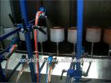 Línea de revestimiento de color UV husillo sobre cinta transportadora automática