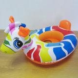 Portée de flottement animale gonflable de bébé de PVC pour des gosses