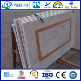 Panneau en aluminium de nid d'abeilles de Marbre-Texture de qualité d'Onebond