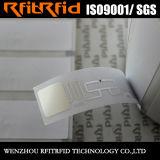 UHF/860-960MHz 인쇄할 수 있는 주문 접착성 스티커 RFID 중요한 꼬리표