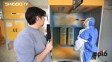 Cabina de aerosol de la pintura del polvo de la rueda (Colo-S-1517)
