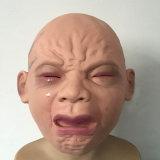 Máscara popular del bebé, máscara asustadiza para Víspera de Todos los Santos