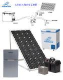 Refrigerador solar da bateria do compressor do congelador 12V24V48V da caixa da porta de vidro de Purswave 218L