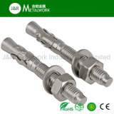 Ss304 Ss316 Acier inoxydable A2 A4 Wedge Anchor Bolt