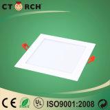 Luz de painel quadrada 12W do diodo emissor de luz de Ctorch da alta qualidade com Ce