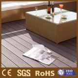 Decking composto ao ar livre Anti-UV de WPC para o revestimento