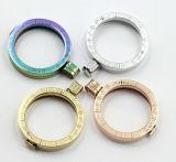 Locket chirurgical de mode de l'acier inoxydable 316L avec de diverses couleurs procurables