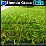 grama artificial da paisagem da altura do comprimento 25mm da largura 25m de 2m