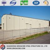 Edificio de acero prefabricado del marco de puerta para el taller