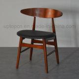 PU 실내 장식품과 특별한 원탁 (SP-CT590)를 가진 나무로 되는 대중음식점 의자