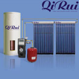 Alta calidad del anticongelante calentador de agua solar del tubo de calor solar del vacío de la presión de 100/150/200/250/300/400/500/1000 litro