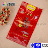 Sac en plastique personnalisé de traitement pour le sac de vide en nylon de riz