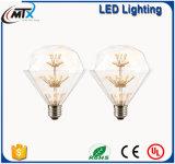 MTX装飾的なLEDは装飾的なLEDの球根LEDストリングライト屋外のシャンデリアの電球をつける