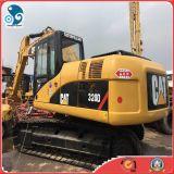 Máquina escavadora hidráulica usada da esteira rolante do gato 320d (2009year)