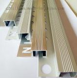 アルミニウムタイルのトリムの陶磁器の壁のタイルのトリム