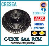 Design industriel neuf élevé du compartiment 150W 130lm/W d'UFO DEL