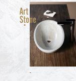 Lavabo de piedra hecho por el travertino de Surper White