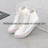 Новое прибытие Студенты Повседневная обувь Цельнолитные Холст обувь (FF1026-04)