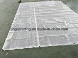 Folha transparente do andaime de encerado da gaze de encerado do andaime do engranzamento da folha de tampa 3X3 do andaime