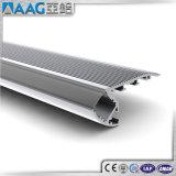 Perfil de aluminio/de aluminio de la protuberancia para la sospecha del borde de la escalera