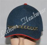 Tampão do chapéu do Applique de Jersey dos painéis do lazer 5