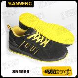 新しいPU/PUの足底(SN5556)が付いている産業安全の靴