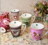De in het groot 12oz Creatieve Mok van de Koffie van het Porselein van het Ontwerp Witte