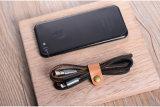 Gold-Plate телефон данным по Sync оплетенного провода джинсовой ткани поручая кабель USB на iPhone 7 6 6s плюс Ios 10 воздуха iPad 5 5s