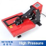 Impresora de alta presión de la transferencia de la prensa del calor de la sublimación de la camiseta