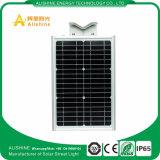 2017 el nuevo producto IP65 al aire libre impermeabiliza la luz de calle solar integrada 100lm/W del LED
