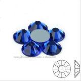 Ss6 Ss8 Ss10 Ss12 de Tsjechische Steen van het Glas Hotfix van de Parel van het Kristal niet (fB-Saffier)