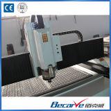 1,3 m * 2,5 m de doble tornillo de alta precisión 5.5kw husillo router CNC de la carpintería