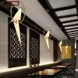 Moderna simple de la forma del pájaro Cafetería Bar lámpara colgante de techo