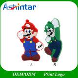 최고 Mario USB 기억 장치 지팡이 만화 USB Pendrive