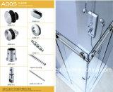 Accessoires en verre de salle de bains de porte de la qualité SUS304/31