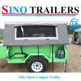 Barraca ao ar livre de acampamento dos aventureiros para acampar