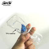 Caja líquida del teléfono de la arena movediza TPU de Shs para Samsung S5