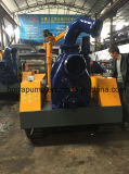Pompa d'asciugamento dei rifiuti montata rimorchio del motore diesel di telecomando