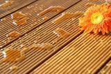 Segredo antiderrapante Decking ao ar livre pregado do Teak da piscina