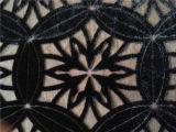 Ожог вне Discharge напечатанный Silk бархат