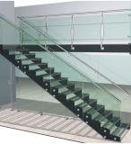 薄板にされた緩和されたガラスのステアケースを取り除きなさい