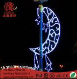 Amarillo LED Motif cuerda luz para Ramadan Decoración con Ce RoHS