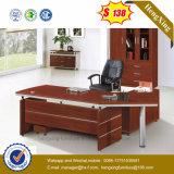 Couleur d'acajou L bureau en bois de gestionnaire de forme (HX-SD338)