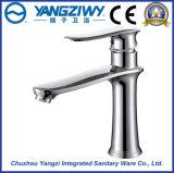 Faucet da bacia da cachoeira do banheiro do furo do único punho do cromo único (YZ5085)