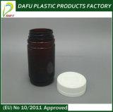 botella de píldora plástica del animal doméstico del cilindro 165ml