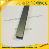 Profil en aluminium de anodisation balayé d'extrusion de cuisine pour des meubles de cuisine