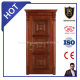 Type portes intérieures de porte intérieure de bois de construction en bois solide de position